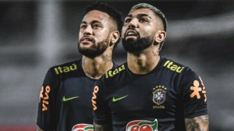 Neymar e Gabigol estariam em pé de guerra. (Foto: Divulgação)