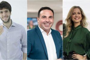 Reinaldo Gottino vai mediar debates entre Caio Coppolla e Gabriela Prioli em novo programa da CNN Brasil. (Foto: Montagem/Divulgação)