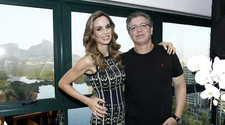 Boninho completou 24 anos de união com Ana Furtado. (Foto: Divulgação)