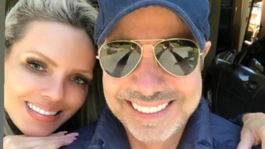 Keli Oliveira e João Kleber (Foto: Reprodução)