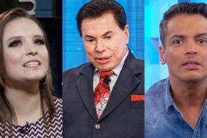 Larissa Manoela, Silvio Santos, Leo Dias