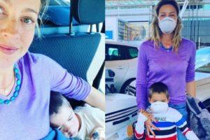 Luana Piovani enfrentou drama durante viagem com o filho (Foto: Montagem/TV Foco)