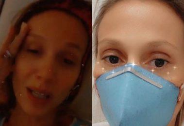 Ativista Luisa Mell está com o Coronavírus e usa redes sociais para fazer desabafo (Foto: Montagem/TV Foco)