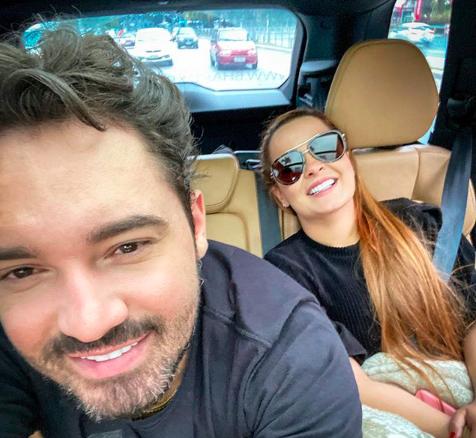 A famosa cantora sertaneja Maiara, da dupla com Maraísa,e o cantor Fernando Zor deixaram os seus seguidores de queixo caído ao falarem sobre gravidez após compartilharem foto em posição inusitada nas redes sociais (Foto: Reprodução/Instagram)