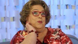 Mamma Bruschetta, comentarista de fofoca da TV (Foto: reprodução)