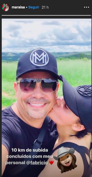 A irmã de Maiara, Maraísa assume romance com o sertanejo Fabrício, da dupla com Henrique Foto: Reprodução/Instagram)