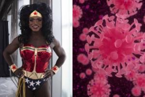 Nashom Wooden, conhecido como a drag queen Mona Foot, morre aos 50 anos de idade (Foto: Reprodução)