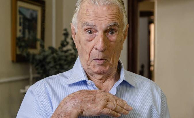 Ator Orlando Drummond atualmente está com 100 anos (Foto: Reprodução)