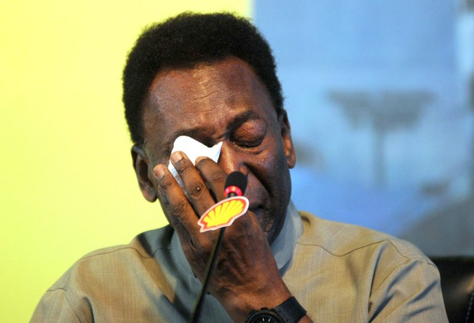 Pelé está sofrendo com a perda do seu irmão mais novo (Foto: Reprodução)