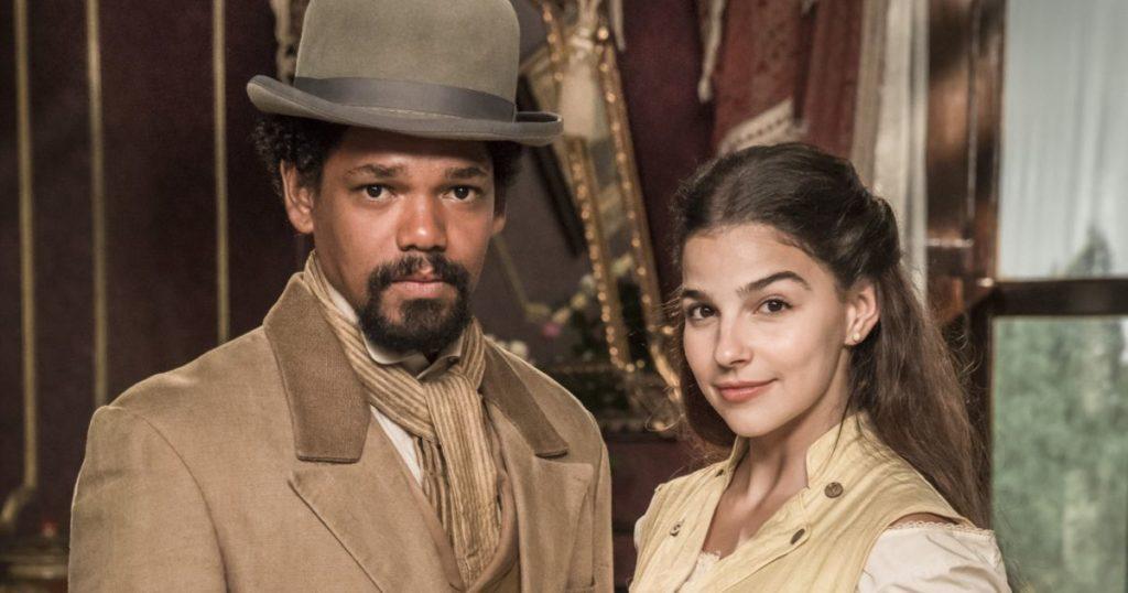 Gabriela Medvedovski vive romance com Michel Gomes na trama de Nos Tempos do Imperador