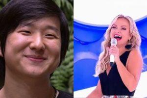 Pyong fez Eliana ver todo mundo nu durante hipnose (Foto: Montagem/TV Foco)
