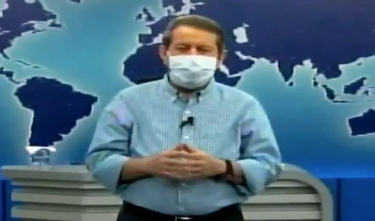Pastor R.R. Soares implora por doações de dinheiro em plena pandemia (Foto: Reprodução)