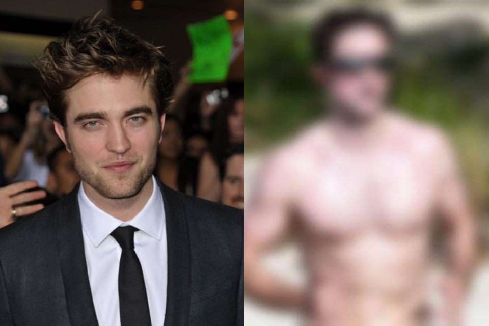 """Robert Pattinson fica incrédulo ao ser considerado bonito, diz ter cheiro de """"giz de cera"""" e expõe o corpo (Foto: Reprodução)"""