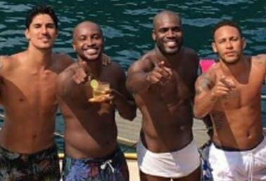 Thiaguinho, Neymar, Gabriel Medina, Rafael Zulu