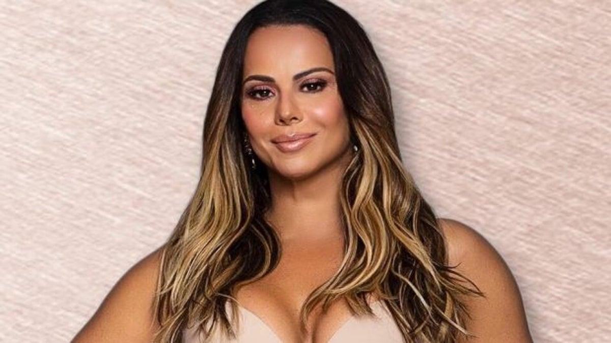 A famosa rainha de bateria e atriz da Globo, Viviane Araújo (Foto: Reprodução)
