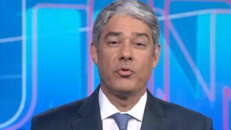 William Bonner causa preocupação da Globo por conta de sua saúde (Foto: Reprodução / TV Globo)