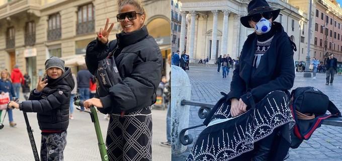 Adriane Galisteu esteve na Itália e causou pânico por conta do Coronavírus (Foto: Reprodução/ Instagram)