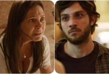 Thelma entra em surto e Danilo fica assustado em Amor de Mãe