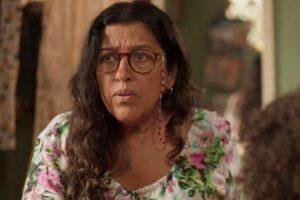 Lurdes (Regina Casé) em cena de Amor de Mãe (Foto: Reprodução/Globo)