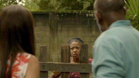 Rita flagra Thelma subornando Eudésio e tem fim trágico em Amor de Mãe (Imagem: divulgação)