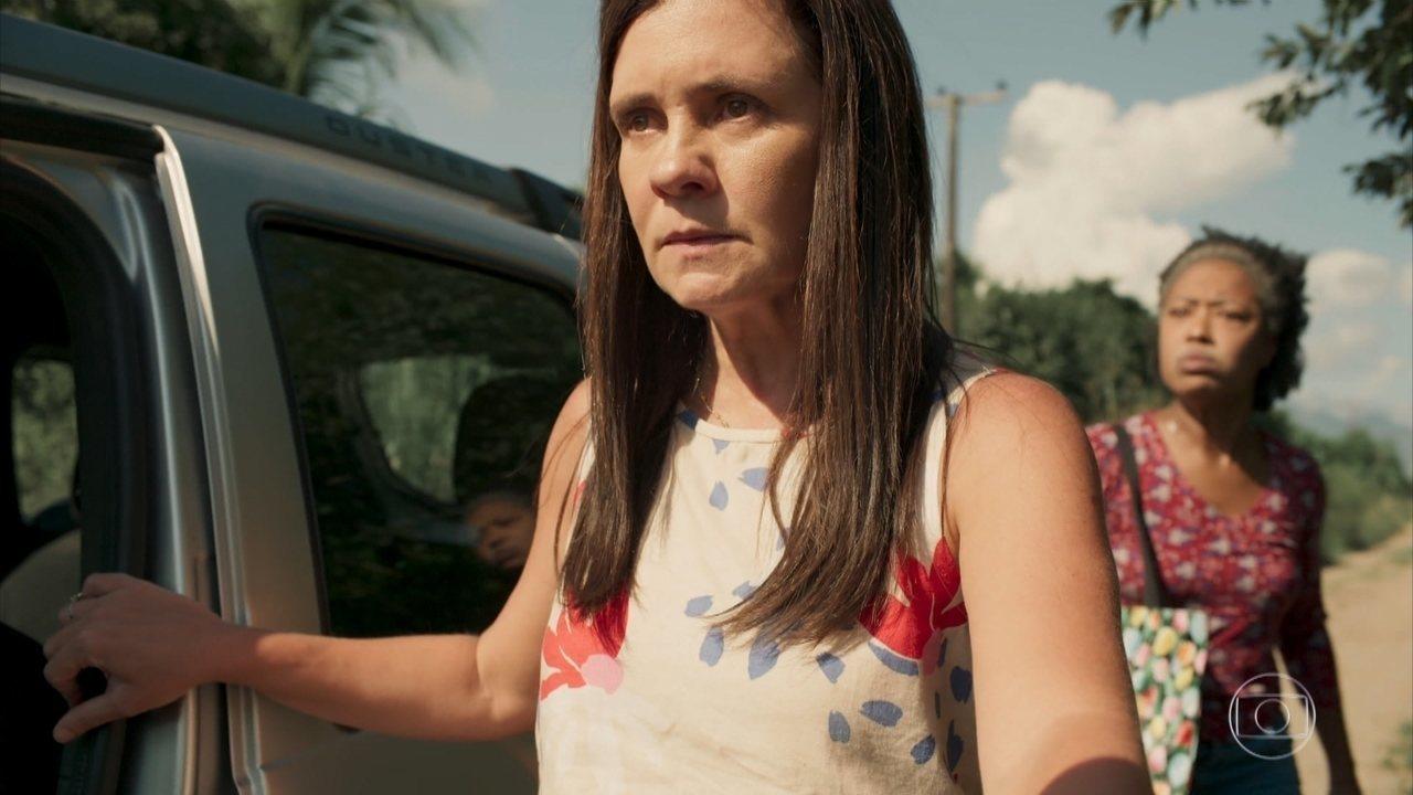 Thelma atropelou rival na novela Amor de Mãe - Foto: Reprodução
