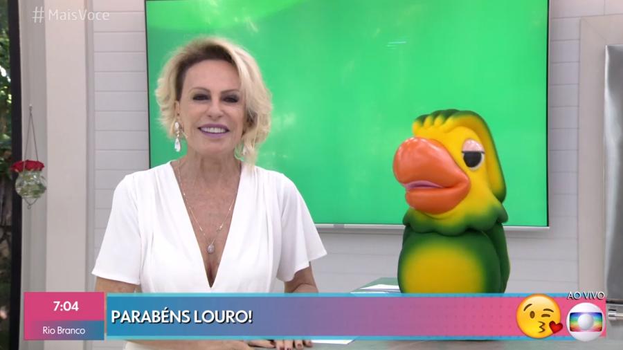 Ana Maria Braga parabenizou Louro José (Reprodução)