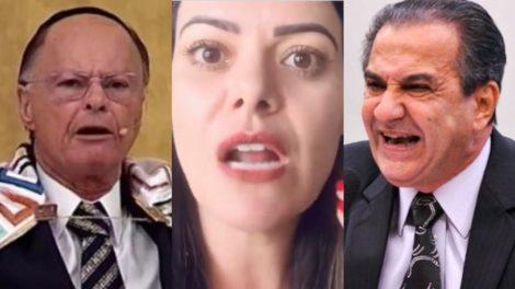 Ana Paula Valadão critica líderes como Silas Malafaia e Edir Macedo (Foto: Reprodução/Redes Sociais/Montagem TV Foco)