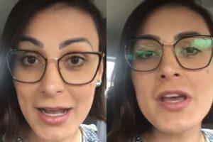 Andressa Urach, apresentadora da Record, abriu o jogo sobre o que pensa sobre o surto de coronavírus (Foto: Reprodução/Instagram/Montagem TV Foco)