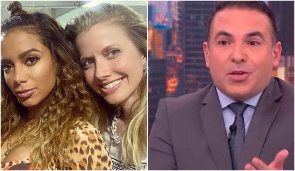 Anitta defendeu a amiga Gabriela Prioli contra Reinaldo Gottino - Foto: Montagem