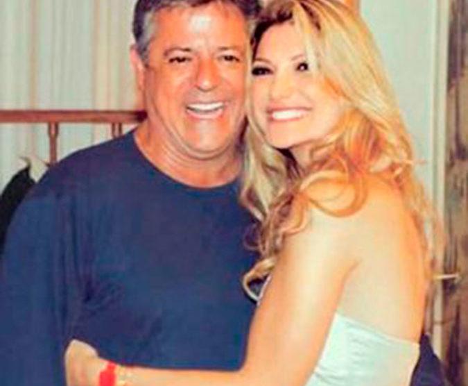 A famoso youtuber e empresária ao lado de seu ex-companheiro Foto: Reprodução)