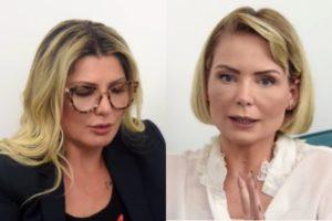 Antonia Fontelle entrevistou a Pastora Bianca Toledo (Foto: Reprodução)