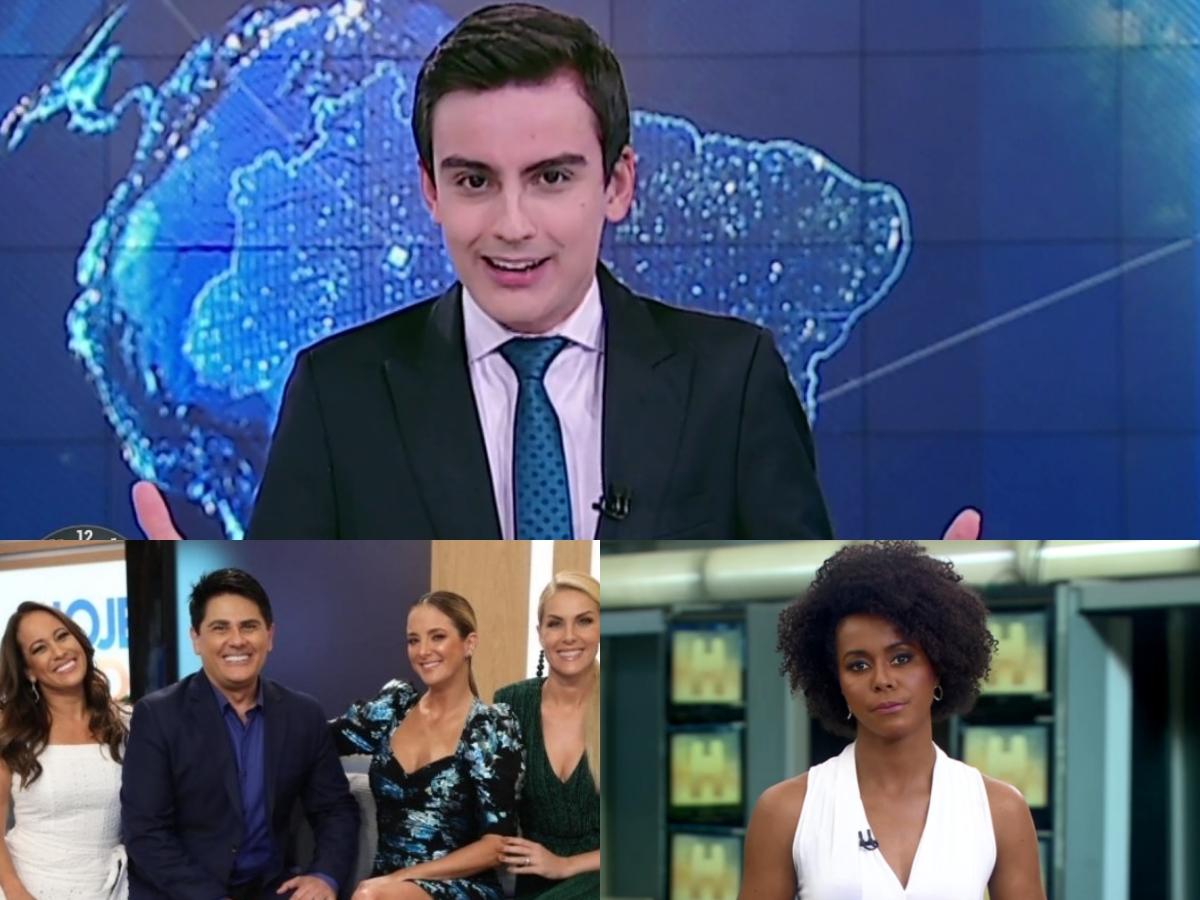 Audiência da TV: Primeiro Impacto jogo rivais na lama, Hoje Em Dia tira Record da miséria e Maju Coutinho explode na Globo (Foto: Reprodução/Montagem TV Foco)