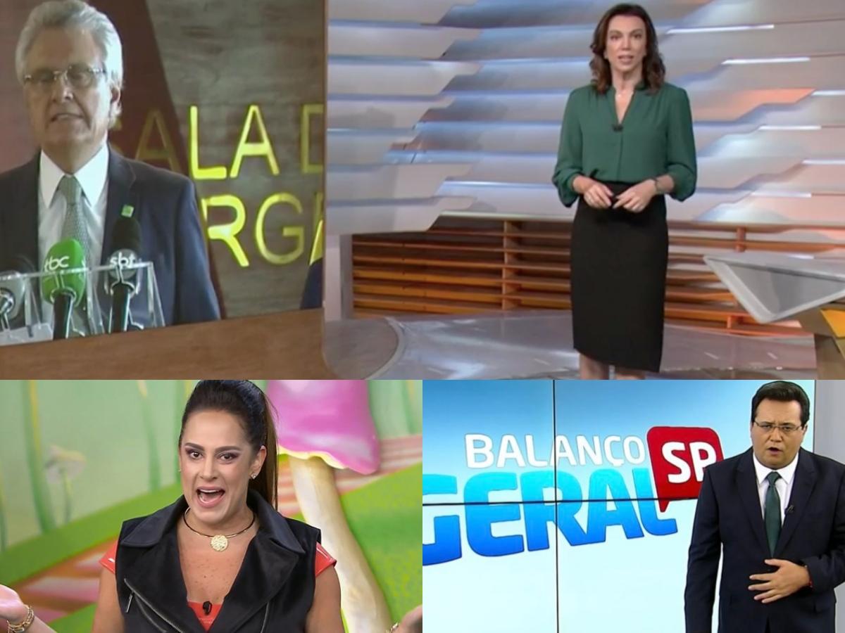 Audiência da TV desta quinta-feira, 26 de março: Bom Dia Brasil faz Globo se destacar, Bom Dia & Cia arrebenta e Silvia Abravanel esmurra Balanço Geral (Foto: Reprodução/Montagem TV Foco)