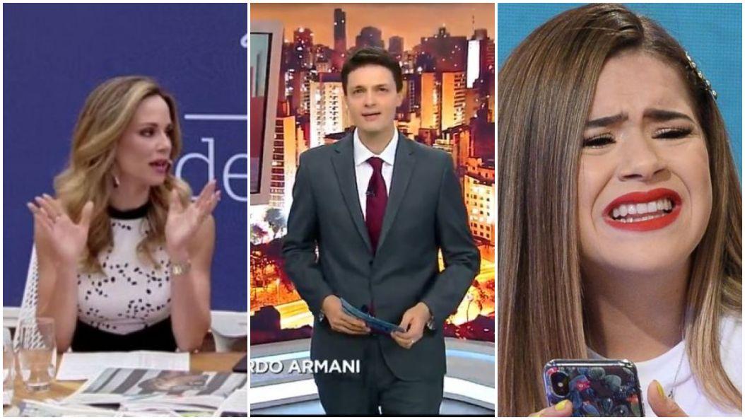 Globo, Record e SBT novamente disputaram a audiência dos telespectadores - Foto: Montagem