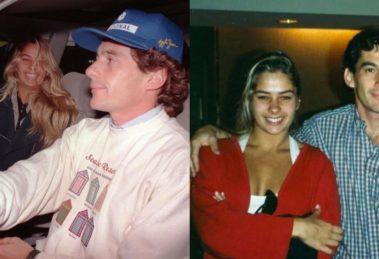 Adriane Galisteu faz homenagem à Ayrton Senna (Foto: Reprodução/Instagram)