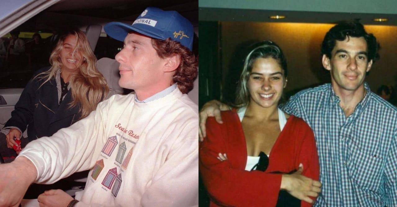 Adriane Galisteu e Ayrton Senna eram namorados antes da morte do piloto (Foto: Reprodução/Instagram)
