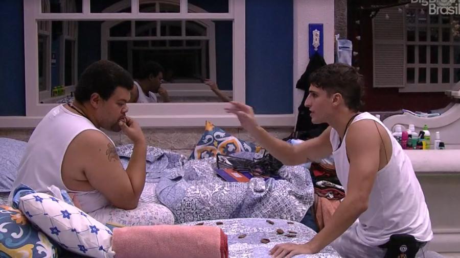 Prior se revolta com Babu e os dois discutem no BBB (Foto: Reprodução/ GloboPlay)