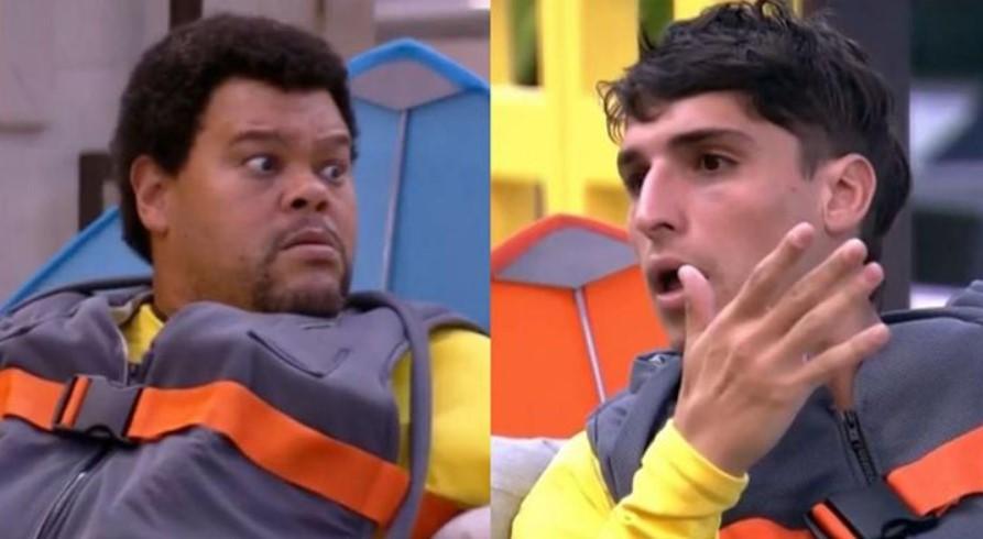 Babu e Felipe Prior voltaram a discutir no BBB20 - Foto: Montagem