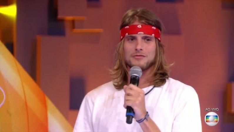 Daniel Lenhardt, eliminado do BBB20 (Foto: Reprodução/ Globo)