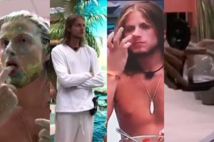 bbb20: Conheça as maiores nojeiras feitas por Daniel dentro da casa (Foto: Montagem TV Foco/Globoplay)