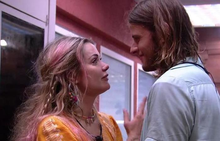 BBB20: Daniel chamou Marcela por outro nome e chateou a médica (Foto: reprodução/Globoplay)