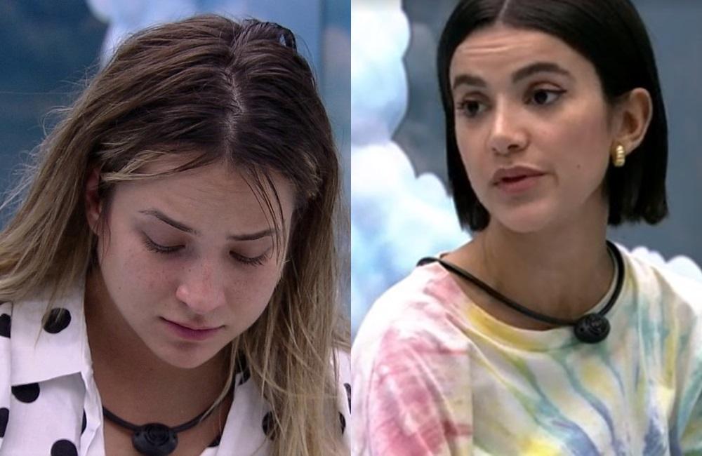 BBB20: Manu comenta choro de Gabi após descobrir que está no paredão (Foto: reprodução/Globoplay)
