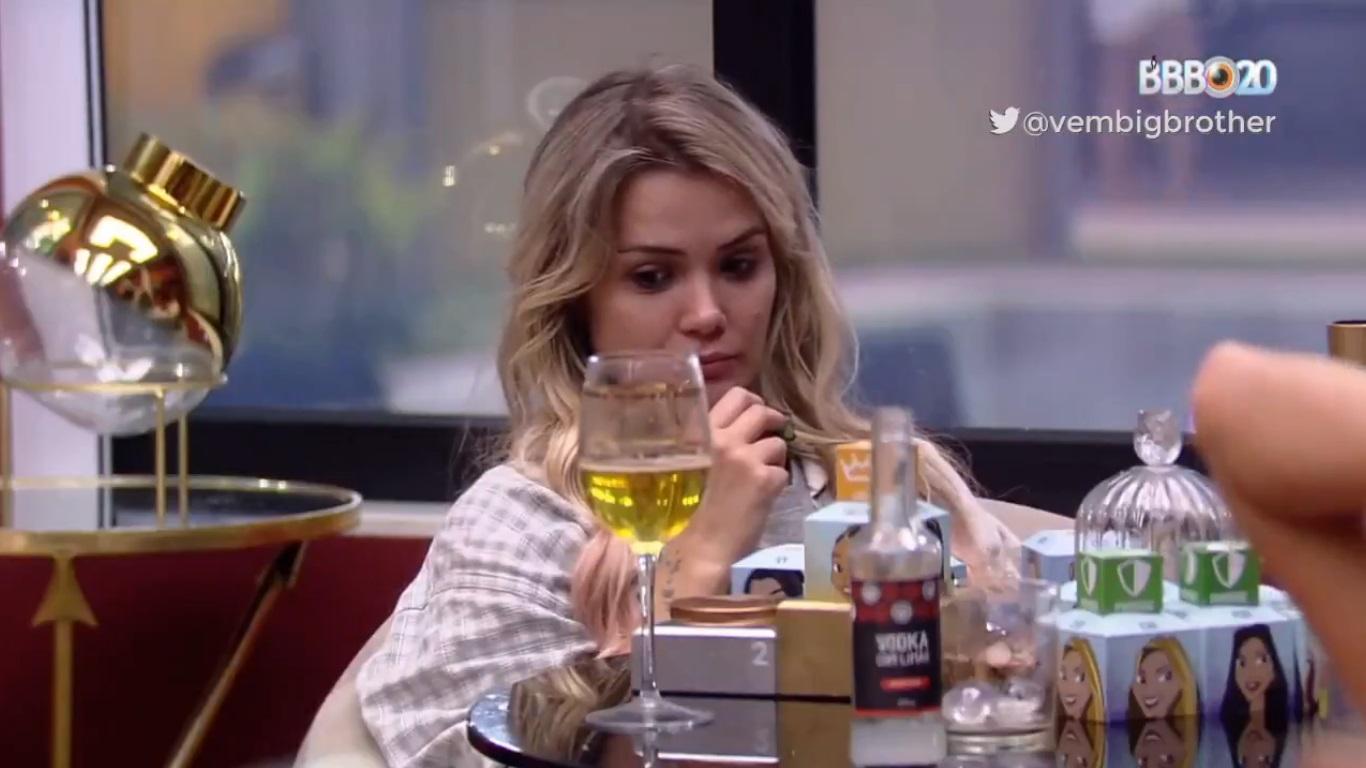 BBB20: Marcela se desesperou após a eliminação de Daniel (Foto: reprodução/Globoplay)