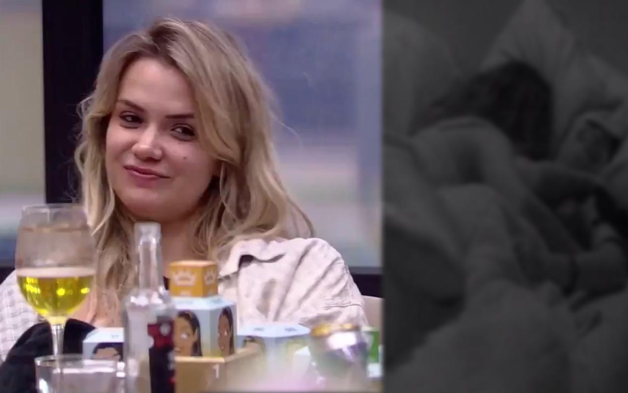 BBB20: Marcela relata sobre intimidades com Daniel (Foto: Montagem TV Foco/Globoplay)