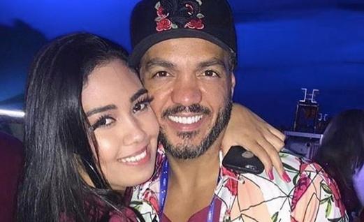Belo ao lado da filha caçula Isadora Vieira (Foto: Instagram)