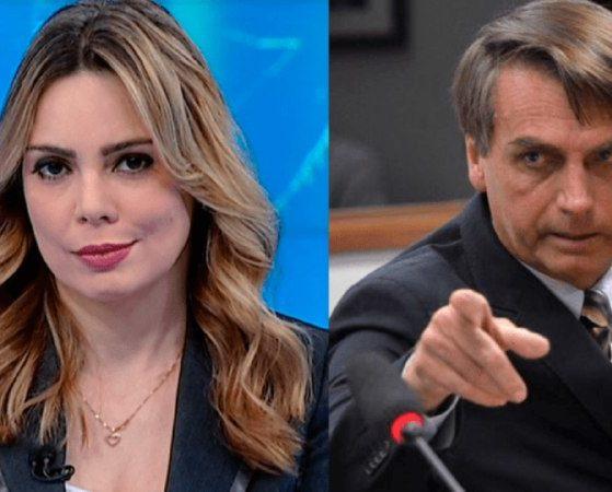 Rachel Sheherazade vem sofrendo ameaças de morte dos apoiadores de Bolsonaro (Foto: Reprodução)