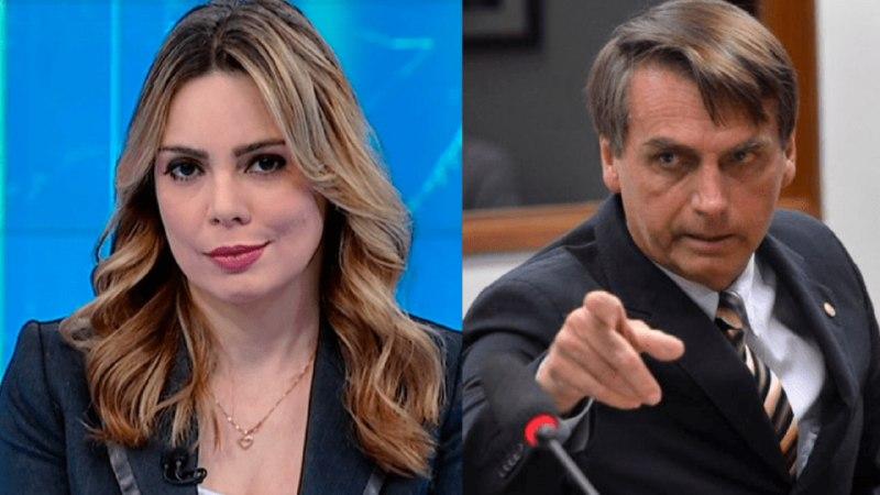 Rachel Sheherazade foi criticada por filho de Bolsonaro e sofreu ataques nas redes sociais (Foto: Reprodução/SBT/Montagem)