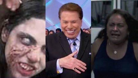 Câmera Escondida de Silvio Santos fez sucesso em 2015 e chamou a atenção da mídia internacional (Montagem: TV Foco)