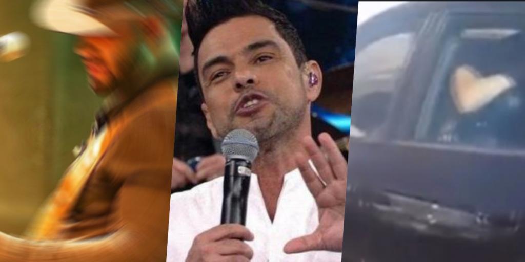 Famosa revela que cantor foi pego fazendo sexo de dentro de carro depois de contar intimidades de Zezé (Foto montagem: TV Foco)