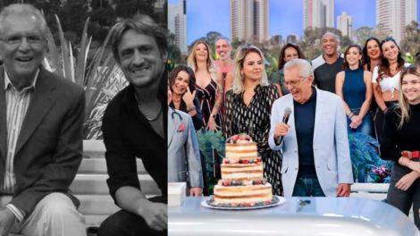 Carlos Alberto de Nóbrega e Marcelo de Nóbrega (Foto: Reprodução/SBT/Montagem TV Foco)